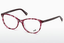 brille Web Eyewear WE5214 A54 - Havanna, Red
