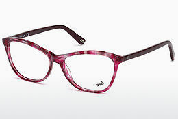 brille Web Eyewear WE5215 054 - Havanna, Red