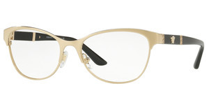 Versace VE1233Q 1339 BRUSHED PALE GOLD