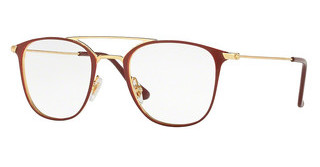 Ray-Ban RX6377 2910 GOLD/SHINY BORDO'