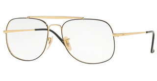 Ray-Ban RX6389 2946 GOLD TOP ON BLACK