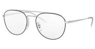 Ray-Ban RX6414 2983 SILVER TOP BLACK