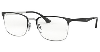 Ray-Ban RX6421 2997 SILVER ON TOP MATTE BLACK