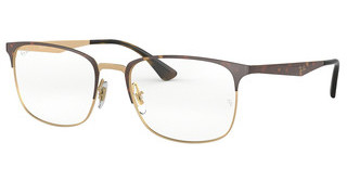 Ray-Ban RX6421 3001 PINK GOLD ON TOP HAVANA