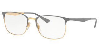 Ray-Ban RX6421 3039 TOP MATTE GREY ON SHINY GOLD