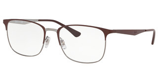 Ray-Ban RX6421 3040 TOP MATTE BROWN ON SHINY GUNME