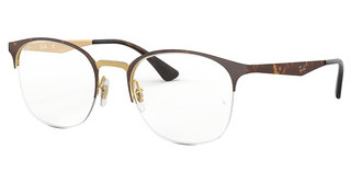Ray-Ban RX6422 3001 PINK GOLD TOP ON HAVANA