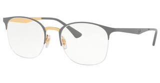 Ray-Ban RX6422 3039 TOP MATTE GREY ON SHINY GOLD