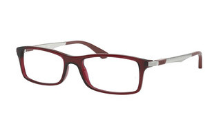 Ray-Ban RX7017 5773 TRASPARENT RED