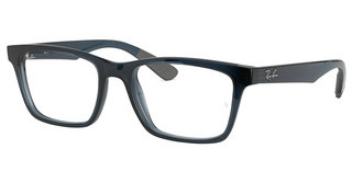 Ray-Ban RX7025 5719 TRASPARENT GREY/BLUE
