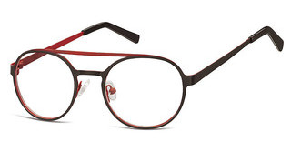 Sunoptic M1 D Matt Black/Dark Red