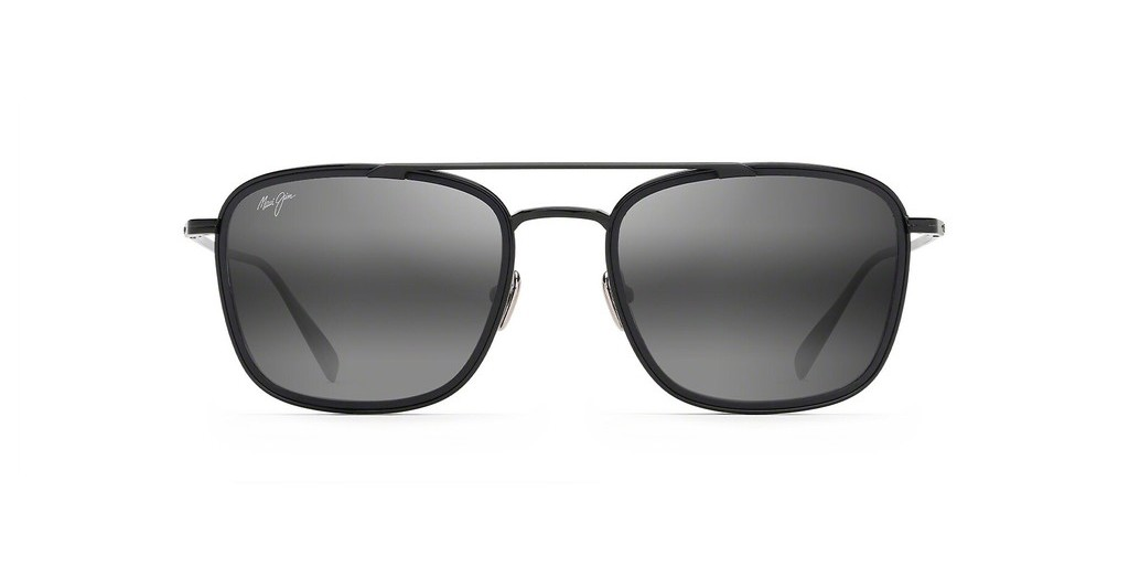 Maui Jim   Following-Seas 555-02 GrauSchwarz