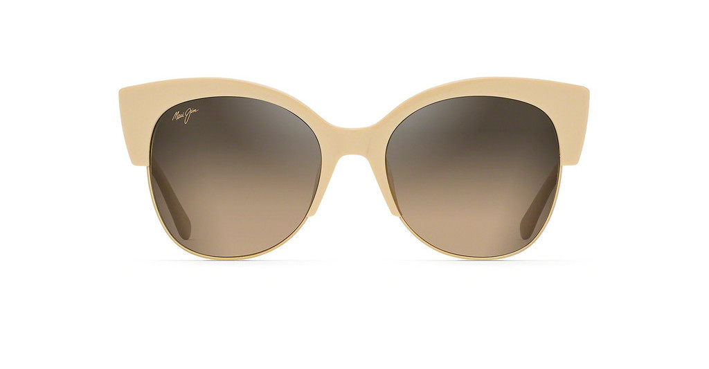 Maui Jim   Mariposa HS817-22C HCL BronzeIvory with Gold