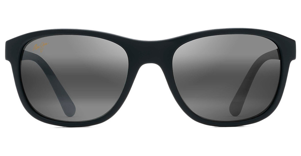 Maui Jim   Wakea 745-02MR Neutral GreyMatte Black Rubber