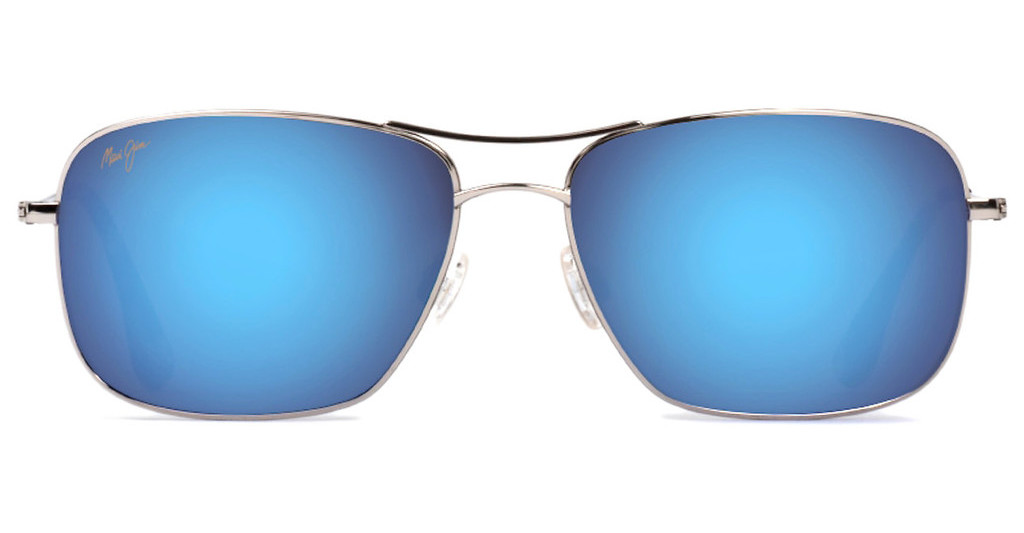 Maui Jim   Wiki Wiki B246-17 Blue HawaiiSilver
