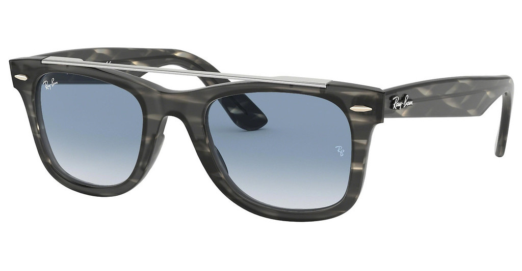 Ray-Ban   RB4540 64123F CLEAR GRADIENT BLUESTRIPPED GREY