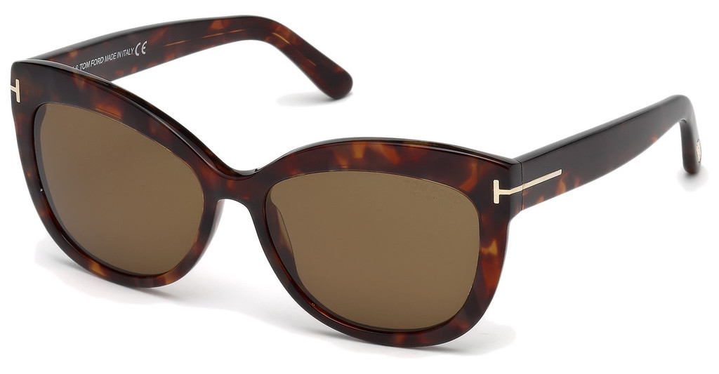 Tom Ford   FT0524 54H braun polarisierendhavanna rot