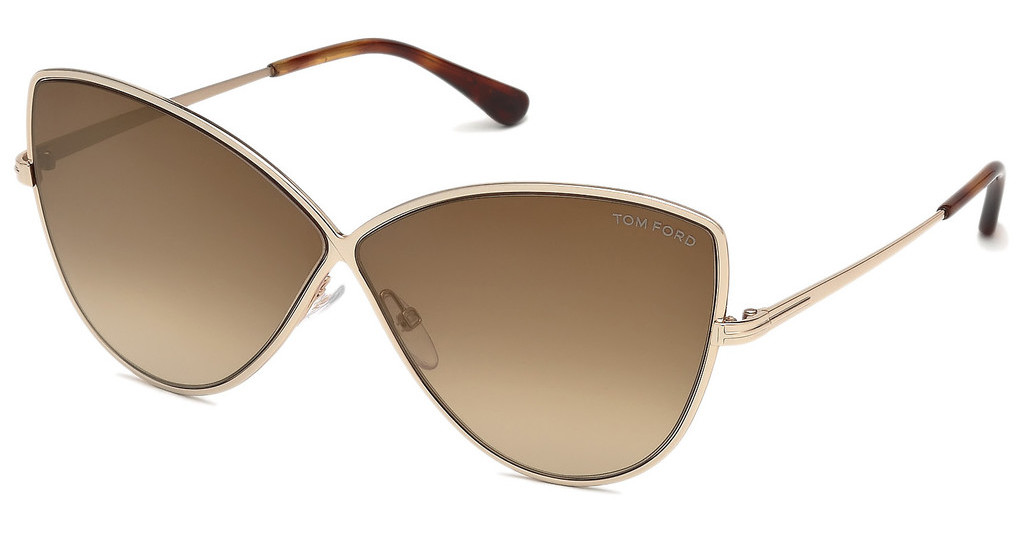 Tom Ford   FT0569 28G braun verspiegeltrosé