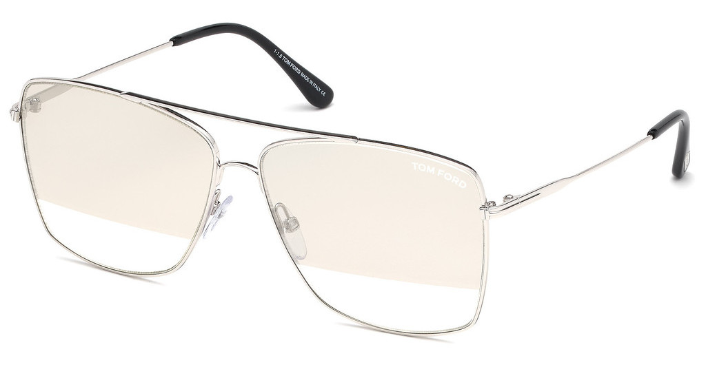 Tom Ford   FT0651 18C grau verspiegeltrhodium glanz