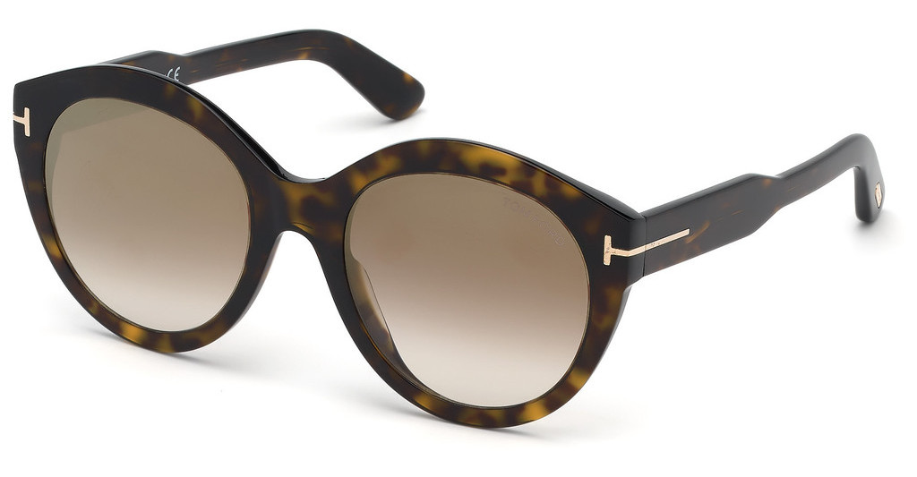 Tom Ford   FT0661 52G braun verspiegelthavanna dunkel