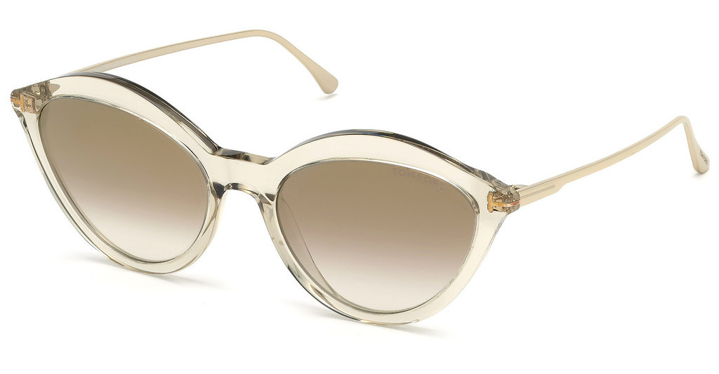 Tom Ford   FT0663 20G braun verspiegeltgrau