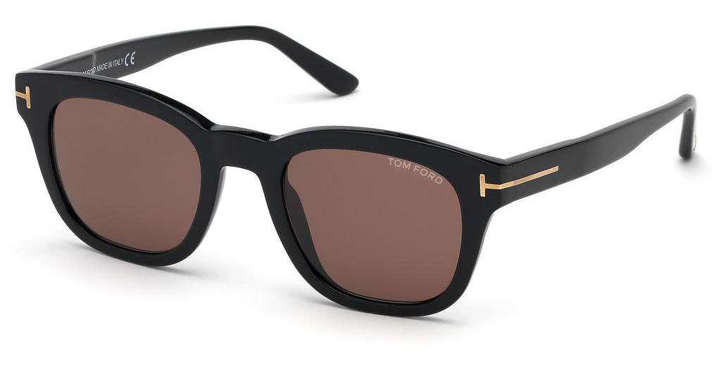Tom Ford   FT0676 01E braunschwarz glanz