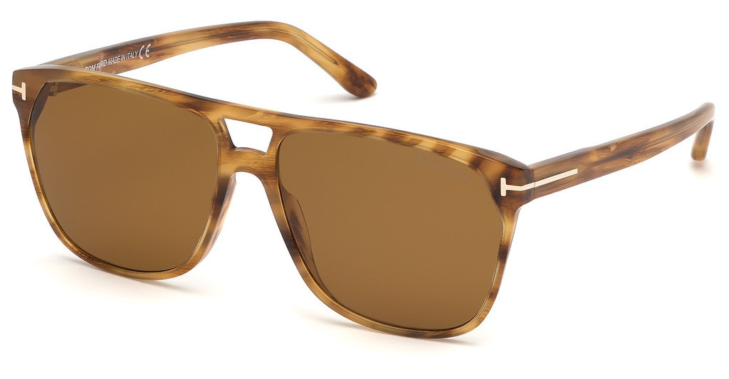 Tom Ford   FT0679 45E braunbraun hell glanz