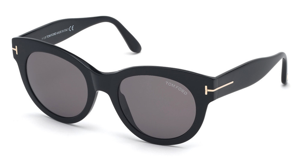 Tom Ford   FT0741 01A grauschwarz glanz