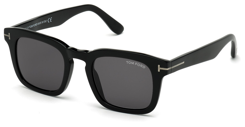 Tom Ford   FT0751-N 01A grauschwarz glanz