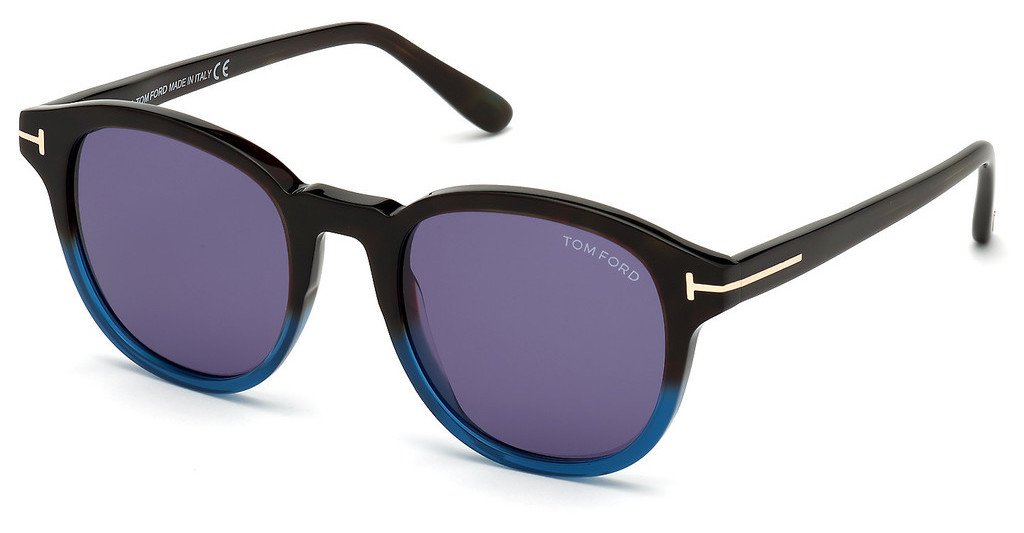 Tom Ford   FT0752 55V blauhavanna bunt