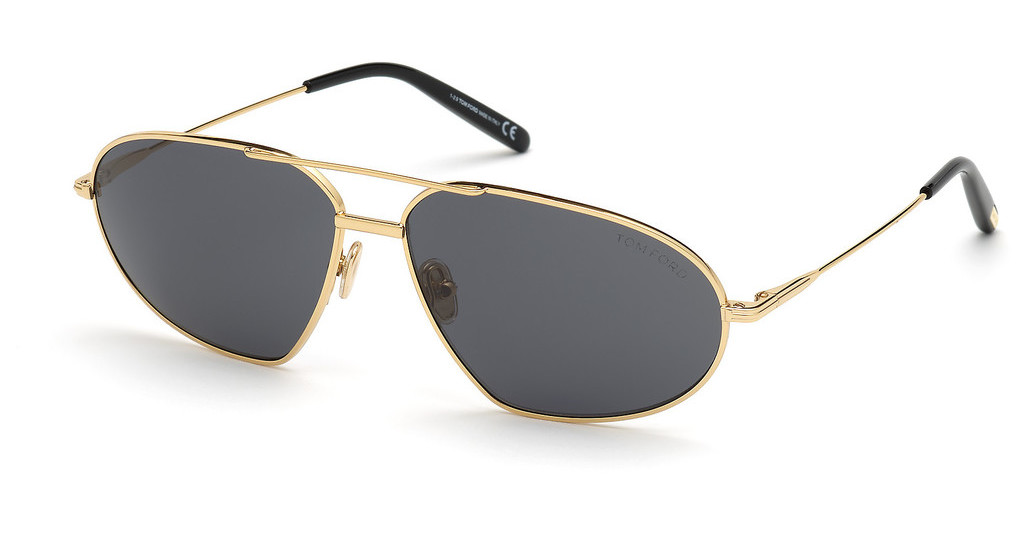 Tom Ford   FT0771 30A grautiefes gold glanz