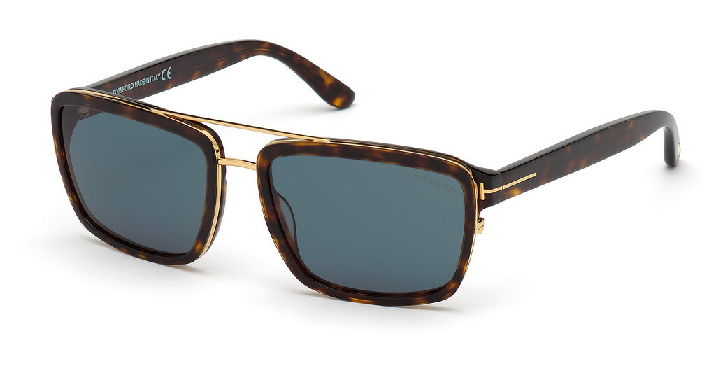 Tom Ford   FT0780 52N grünhavanna dunkel