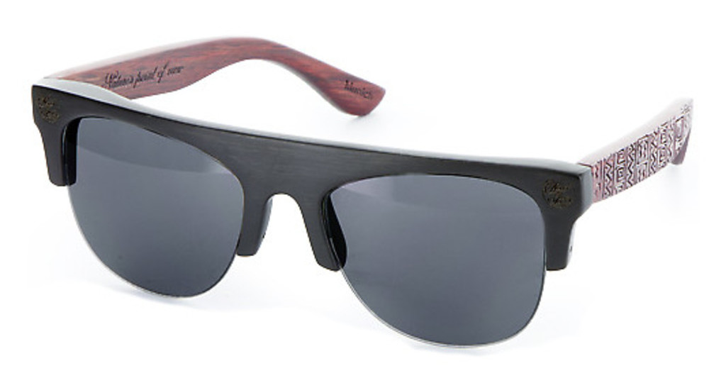 Wood Fellas   10380 black/red black/red