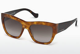 solbrille Balenciaga BA0102 53B - Havanna, Yellow, Blond, Brown