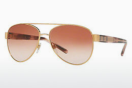 solbrille Burberry BE3084 105213 - Gull