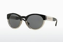 solbrille Burberry BE4205 355887 - Sort, Grå