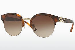 solbrille Burberry BE4241 338213 - Gull, Brun, Havanna