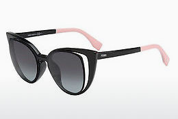 solbrille Fendi FF 0136/S NY1/HD - Sort