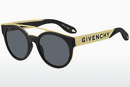 solbrille Givenchy GV 7017/N/S 2M2/IR - Sort, Gull