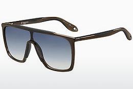 solbrille Givenchy GV 7040/S TIR/IT - Brun, Sort