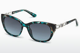 solbrille Guess GU7562 87W - Blå, Turquoise, Shiny