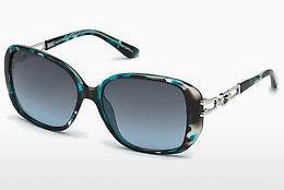 solbrille Guess GU7563 87W - Blå, Turquoise, Shiny