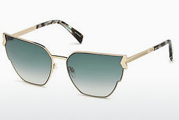 solbrille Just Cavalli JC824S 01P - Sort, Shiny