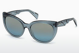 solbrille Just Cavalli JC836S 87X - Blå, Turquoise, Shiny