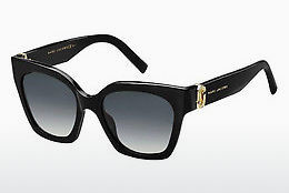 solbrille Marc Jacobs MARC 182/S/STR 807/9O - Sort
