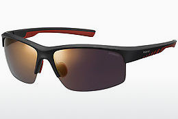 solbrille Polaroid Sports PLD 7018/S OIT/OZ - Sort, Rød, Gull
