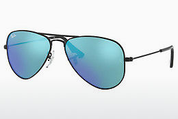 solbrille Ray-Ban Junior Junior Aviator (RJ9506S 201/55) - Sort