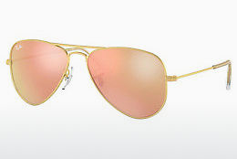 solbrille Ray-Ban Junior Junior Aviator (RJ9506S 249/2Y) - Gull