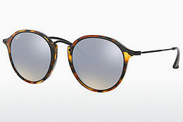 solbrille Ray-Ban Round/classic (RB2447 11579U) - Brun, Havanna, Sort