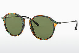 solbrille Ray-Ban Round/classic (RB2447 11594E) - Brun, Havanna